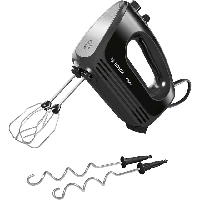 Bosch MFQ2420BGB Hand Mixer with 4 Accessories - Black - MFQ2420BGB_BK - 1