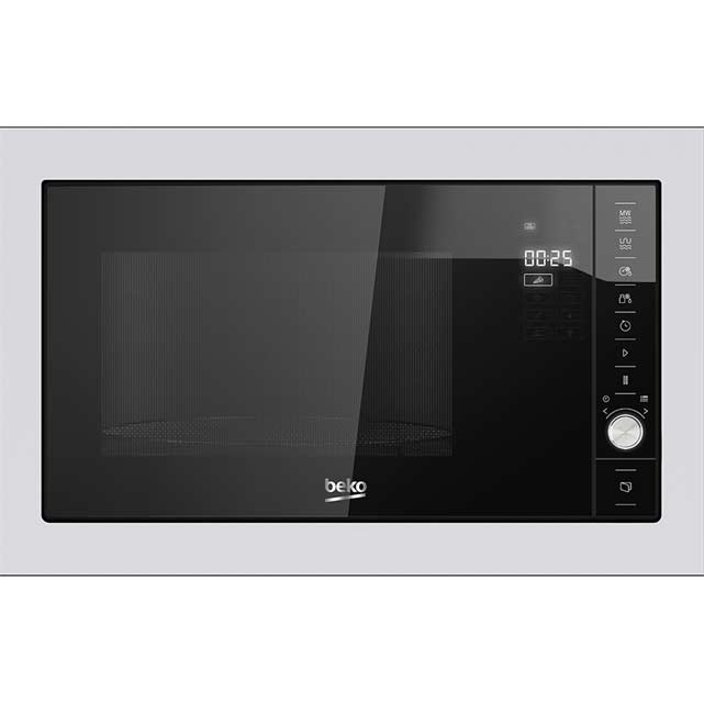 Beko MGB25332BG Built In Microwave With Grill - Black / Stainless Steel
