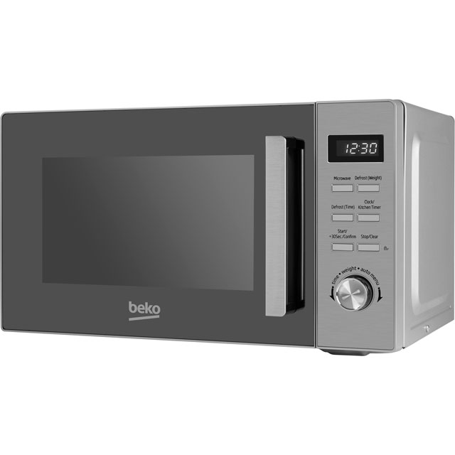 Beko MGF20210X 20 Litre Microwave With Grill - Stainless Steel