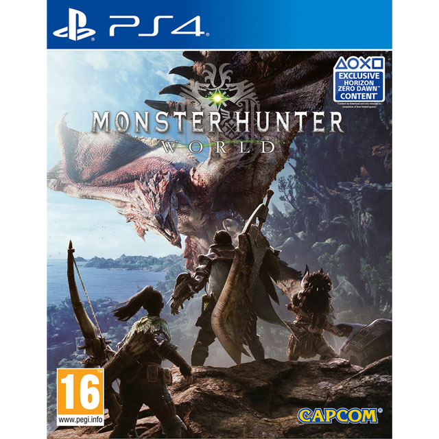 Monster Hunter World for PlayStation 4 - P4RERPCAP94528 - 1