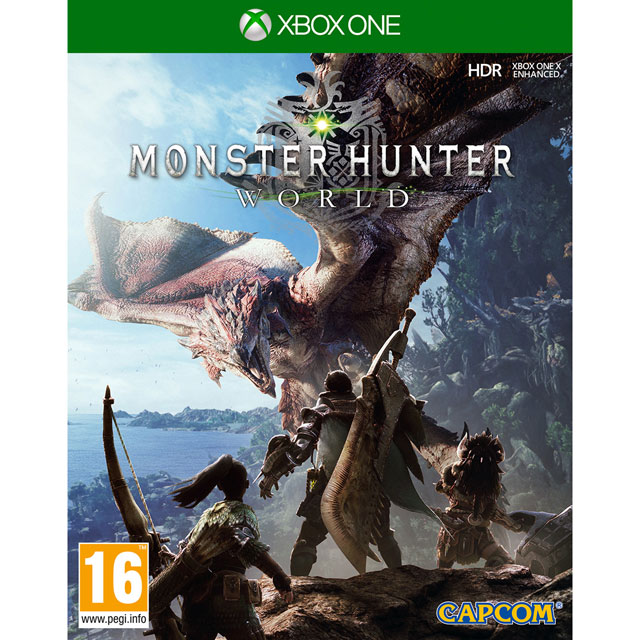 Monster Hunter World for Xbox One - M1RERPCAP96726 - M1RERPCAP96726 - 1