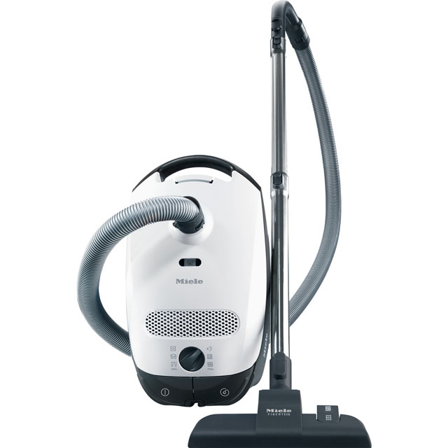 Miele Classic C1 Allergy PowerLine Cylinder Vacuum Cleaner in Lotus White