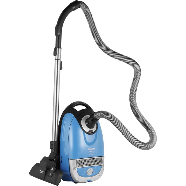 Miele PowerLine Complete C2 Allergy Cylinder Vacuum Cleaner - Blue - Complete C2 Allergy_BL - 1