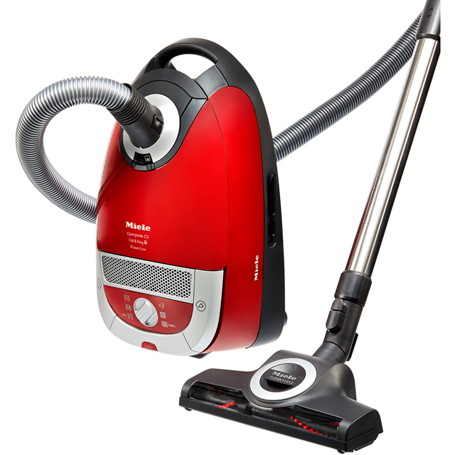 Miele CompleteC2Cat&Dog Cylinder Vacuum Cleaner - Red - CompleteC2Cat&Dog_RD - 1