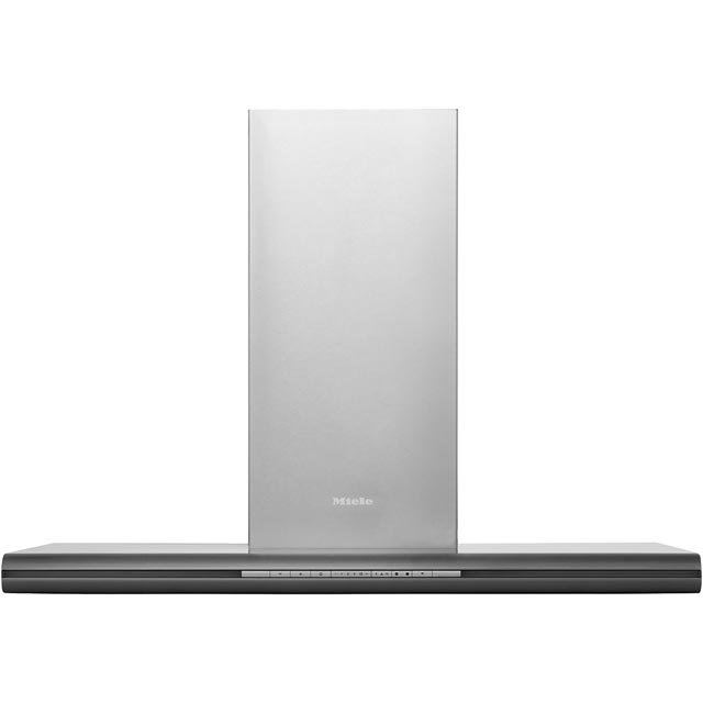 Miele DA6296W 90 cm Chimney Cooker Hood - Stainless Steel - B Rated - DA6296W_SS - 1