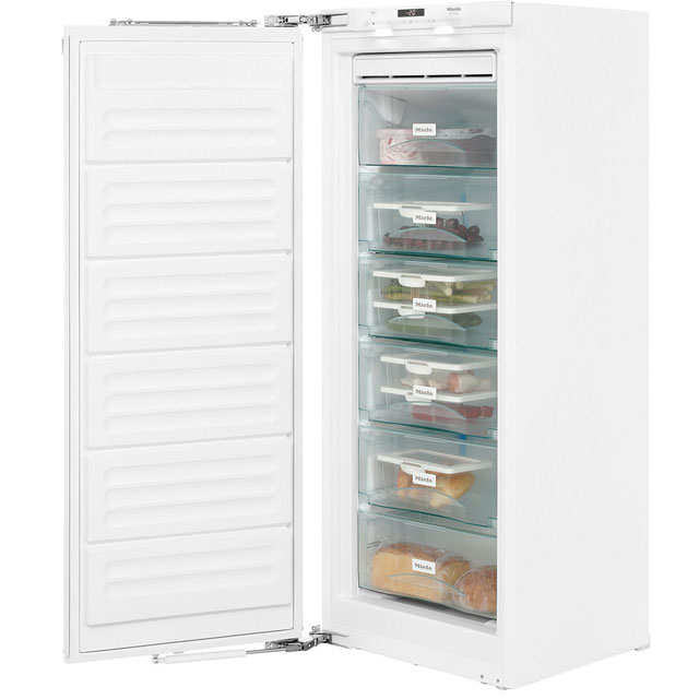 Miele FNS35402i Integrated Frost Free Upright Freezer with Fixed Door Fixing Kit - A++ Rated - FNS35402i_WH - 1