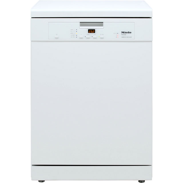 Miele Standard Dishwasher - White - A+ Rated