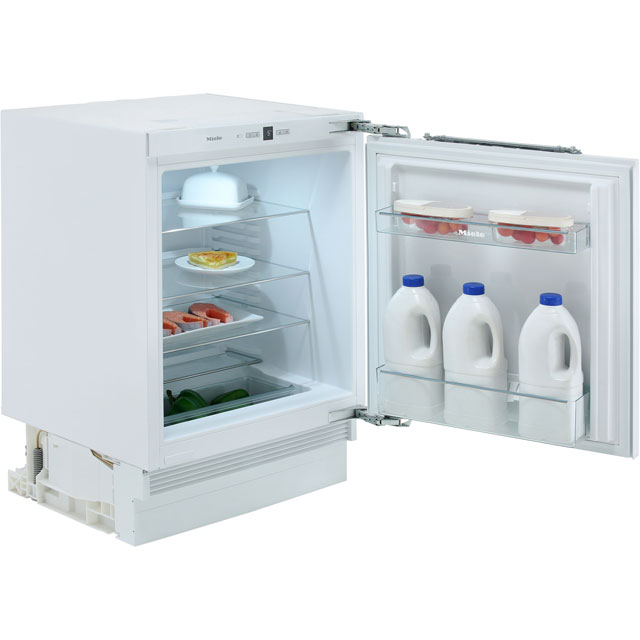 Miele Built Under Larder Fridge in White