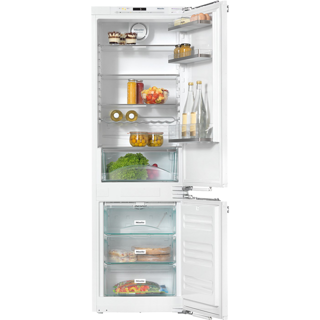 Miele KFN37432iD Integrated 70/30 Frost Free Fridge Freezer with Fixed Door Fixing Kit - White - A++ Rated - KFN37432iD_WH - 1