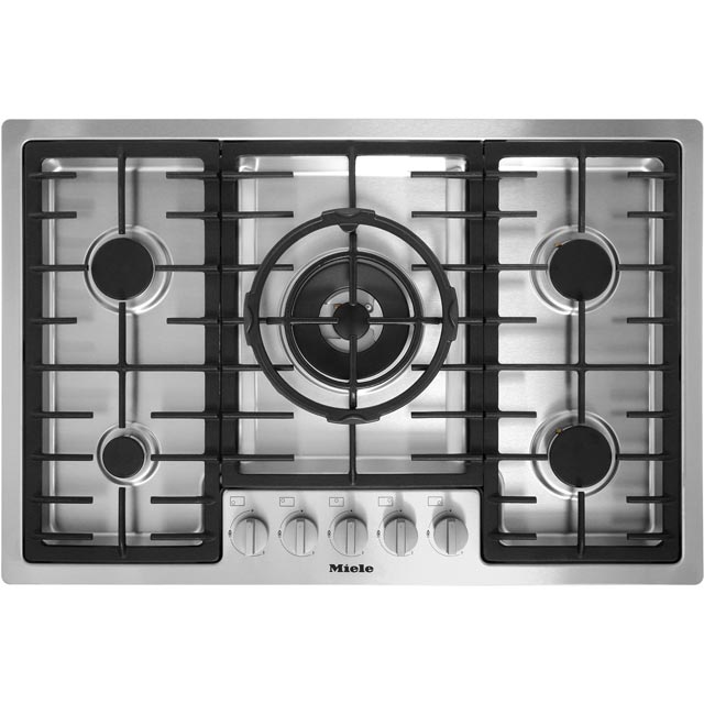Miele KM2335 77cm Gas Hob - Stainless Steel