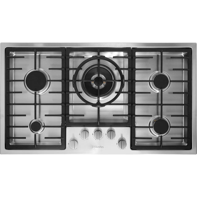 Miele KM2354 89cm Gas Hob - Stainless Steel