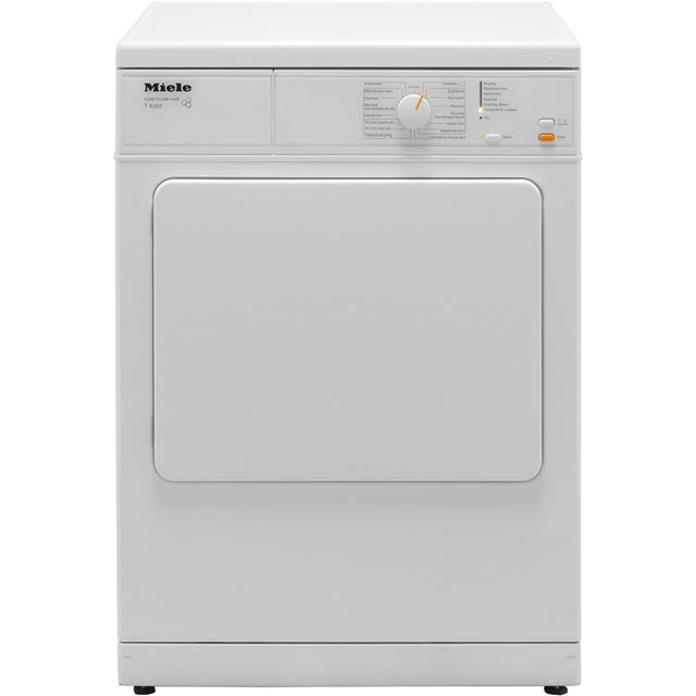 Miele Free Standing Vented Tumble Dryer in White