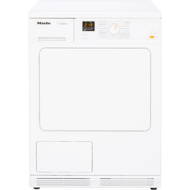Miele TDA140C Free Standing Condenser Tumble Dryer in White
