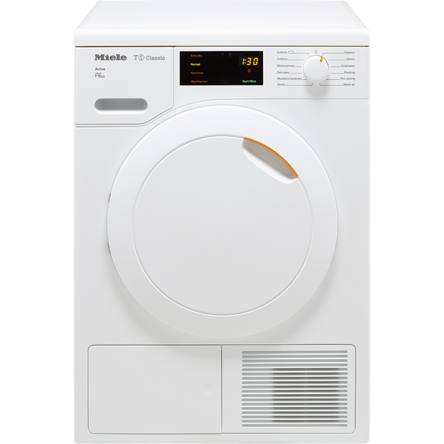 Miele T1 Classic TDB220WP 7Kg Heat Pump Tumble Dryer - White - A++ Rated - TDB220WP_WH - 1