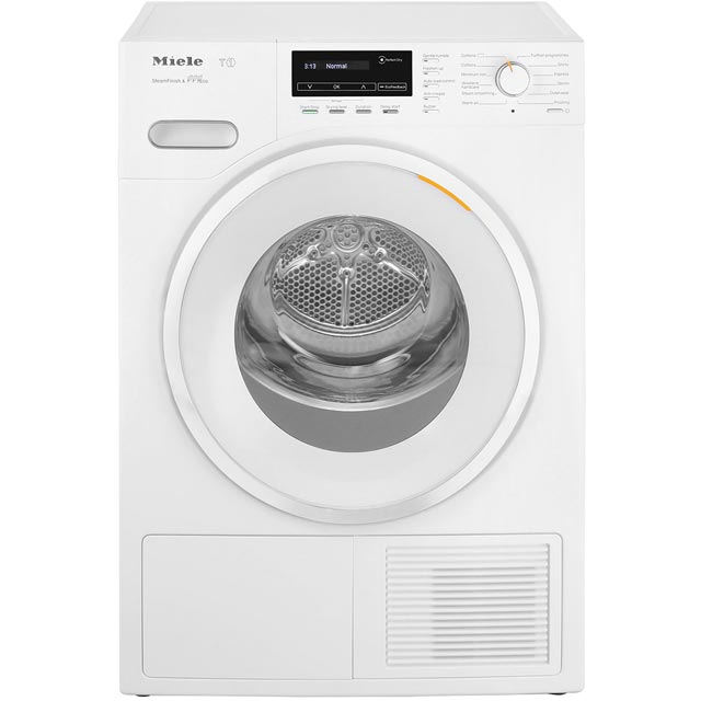 Miele T1 TMG840WP Free Standing Condenser Tumble Dryer in White