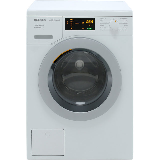 Miele W1 Speedcare 8Kg Washing Machine - White - A+++ Rated