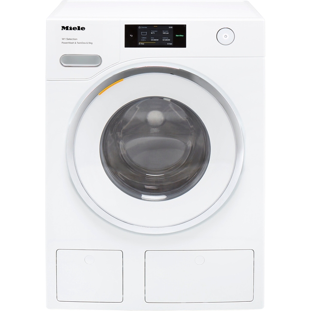 Miele W1 WSR863WPS Wifi Connected 9Kg Washing Machine with 1600 rpm - White - A+++ Rated