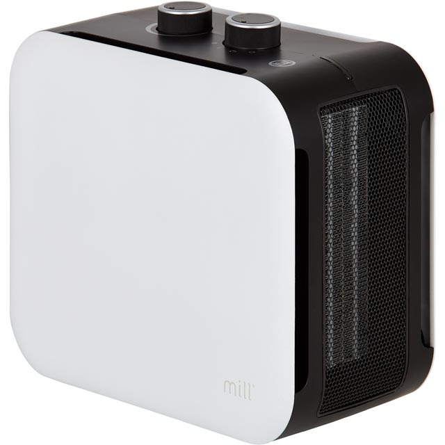 Mill Heat 99480 Fan Heater 1800W - White