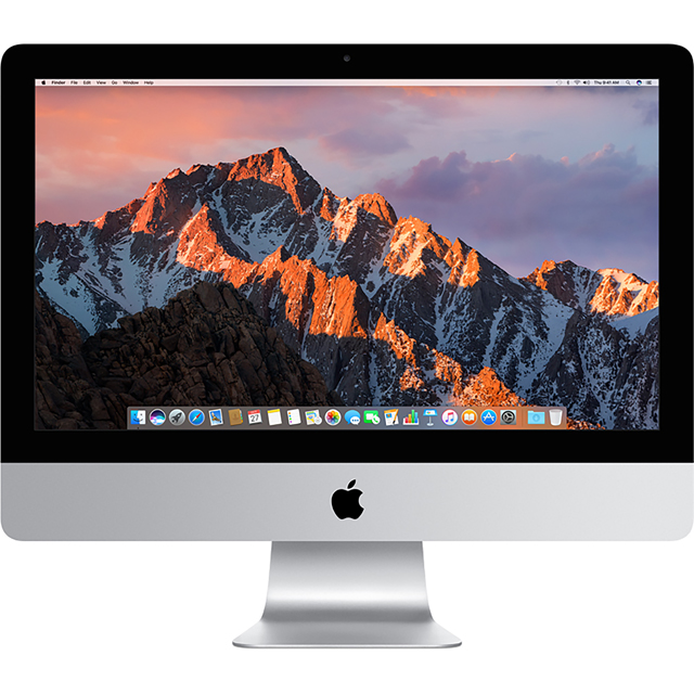 "Apple iMac 4K 21.5"" 2017 - Silver - MNE02B/A - 1"
