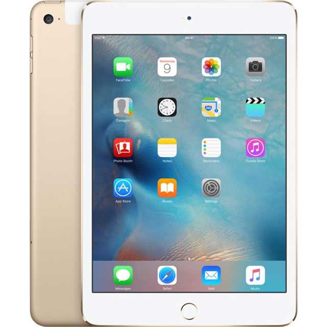 Apple iPad Mini 4 MK8F2B/A Ipad in Gold