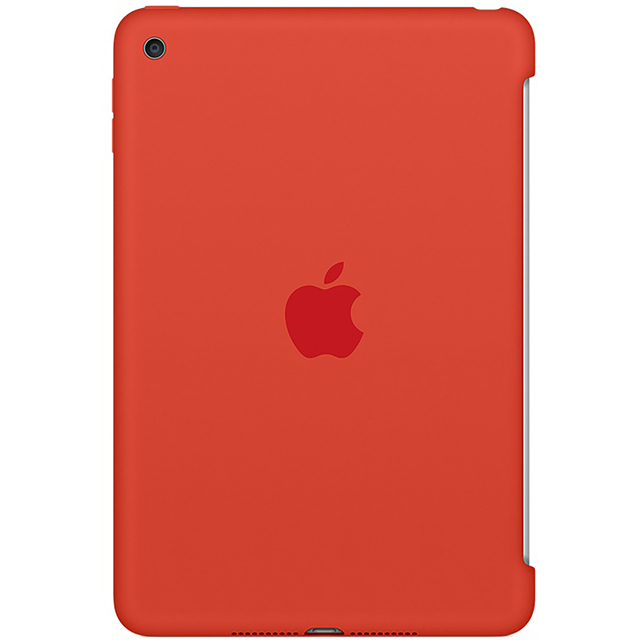 Apple Silicone Case For iPad Mini 4 - Orange
