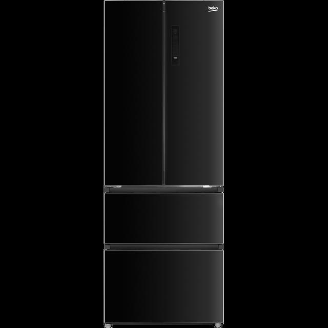 Beko MN13790B American Fridge Freezer - Black - F Rated