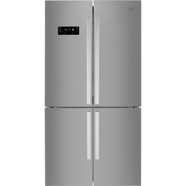 Beko MN1416224PX American Fridge Freezer - Brushed Steel - A+ Rated - MN1416224PX_BS - 1