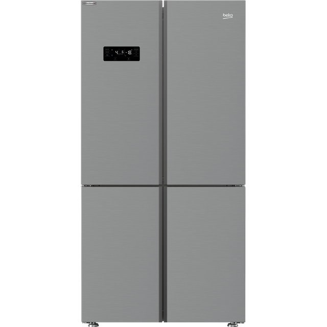 Beko MN1436224DPS American Fridge Freezer - Stainless Steel Effect - F Rated