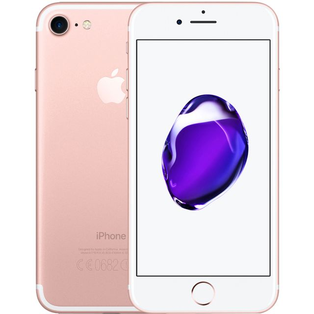 Apple 7 32GB in Rose Gold