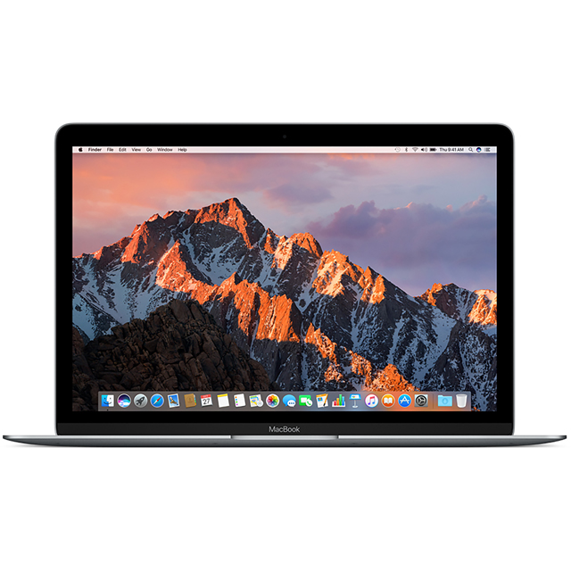 "Apple MacBook 12"" [2017] - Space Grey - MNYG2B/A - 1"