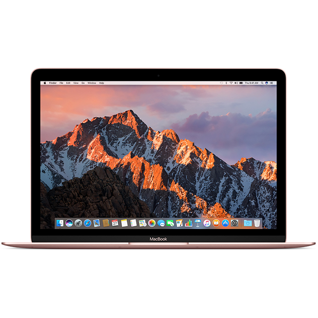 "Apple 12"" MacBook Intel® Core™ i5 8GB RAM 2017 - Rose Gold"