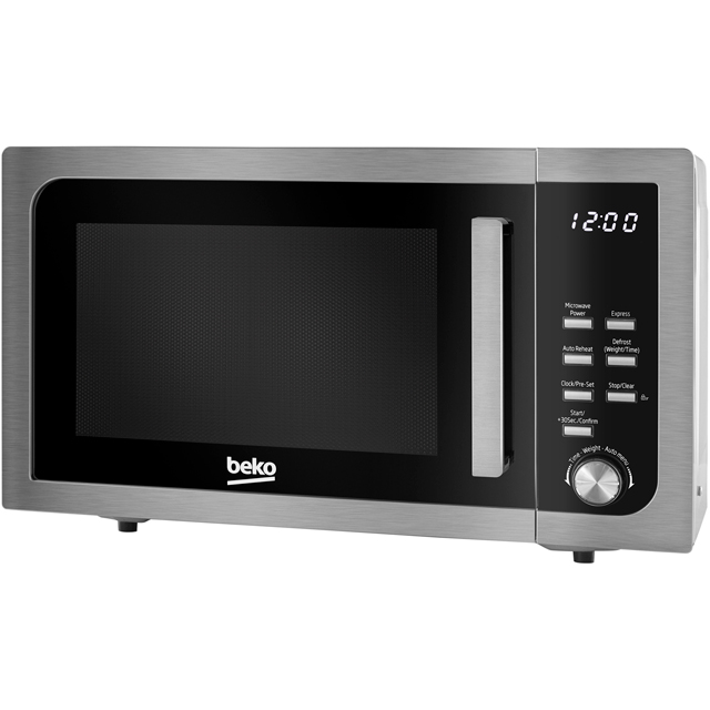 Beko MOF23110X 23 Litre Microwave - Stainless Steel - MOF23110X_SS - 1