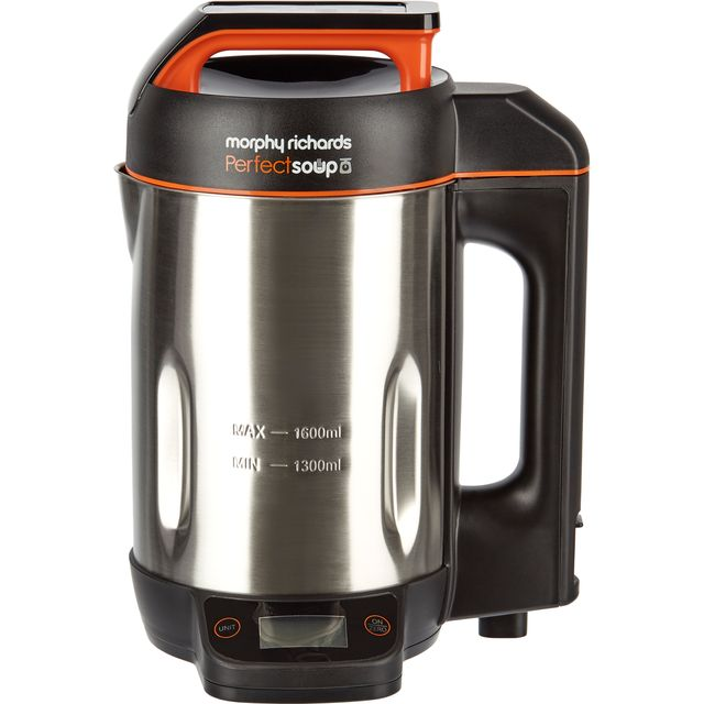 Morphy Richards Perfect Soup 501025 1.6 Litre Soup Maker - Stainless Steel