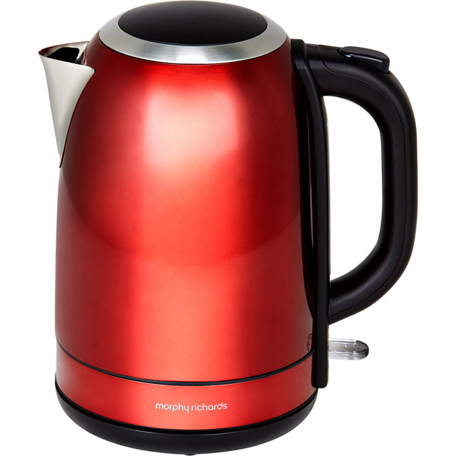 Morphy Richards Equip 102782 Kettle - Red - 102782_RD - 1