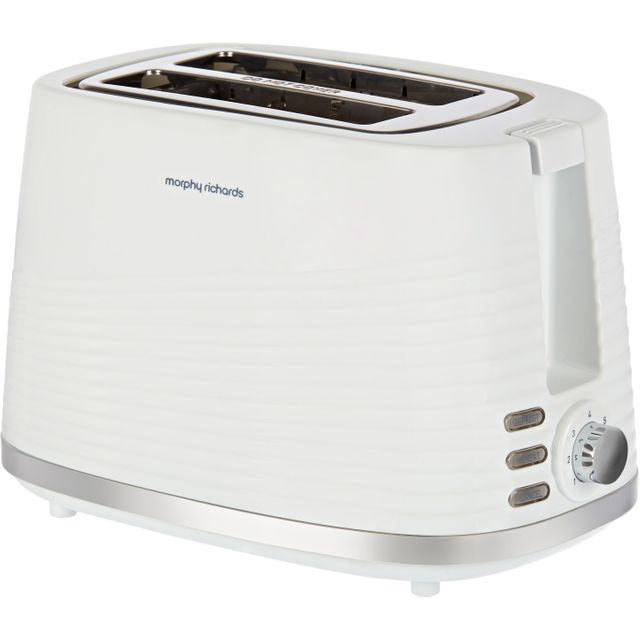 Morphy Richards Dune 220029 2 Slice Toaster - White