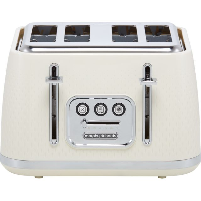 Morphy Richards Verve 243011 4 Slice Toaster - Cream