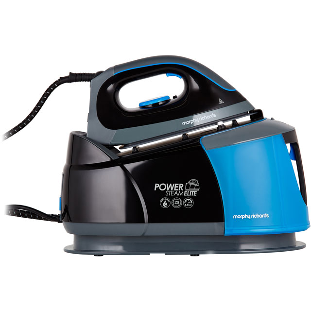Morphy Richards Pressurised Steam Generator Iron - Black / Blue
