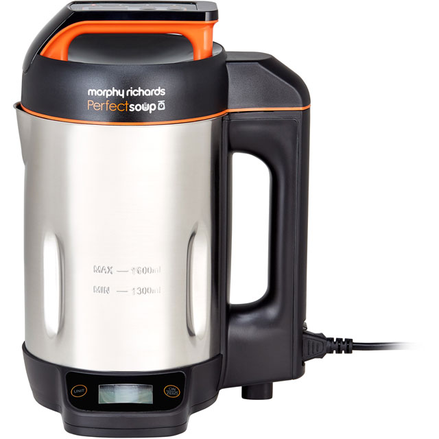 Morphy Richards Perfect Soup 501025 1.6 Litre Soup Maker - Stainless Steel - 501025_SS - 1