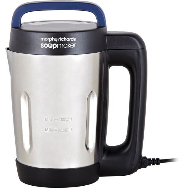 Morphy Richards 501028 1.6 Litre Soup Maker - Stainless Steel - 501028_SS - 1