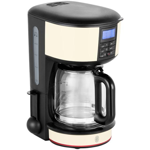Russell Hobbs Legacy 20683 Filter Coffee Machine with Timer - Cream