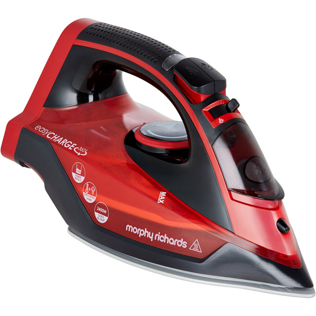 Morphy Richards 303250 2400 Watt Iron -Red - 303250_RD - 1