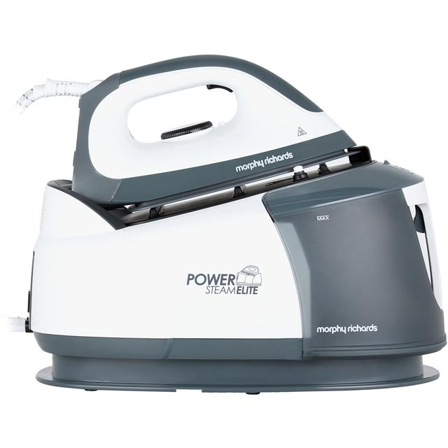 Morphy Richards Power Steam Elite 332007 Pressurised Steam Generator Iron - White / Grey - 332007_WH - 1