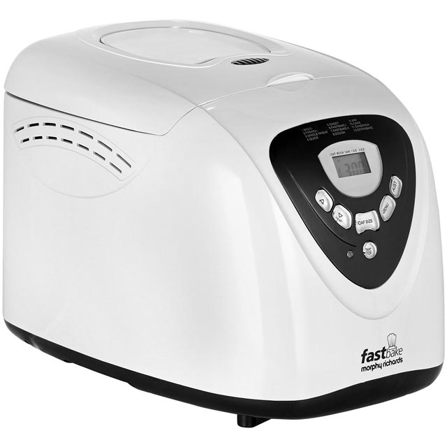 Morphy Richards 48281 Bread Maker with 12 programmes - White