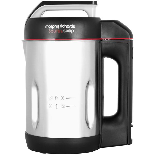 Morphy Richards Sauté and Soup 501014 1.6 Litre Soup Maker - Stainless Steel - 501014_SS - 1