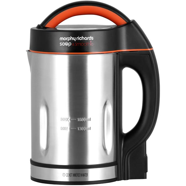 Morphy Richards 501016 1.6 Litre Soup Maker - Stainless Steel - 501016_SS - 1