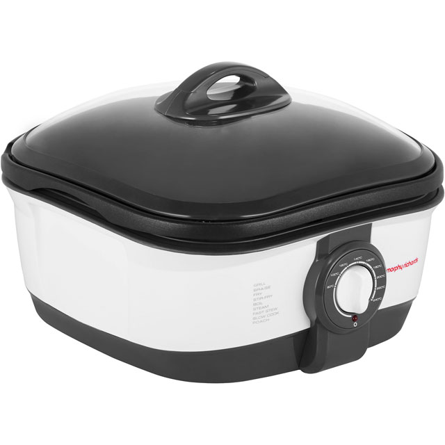 Morphy Richards 5 Litre Multi Cooker - White / Black