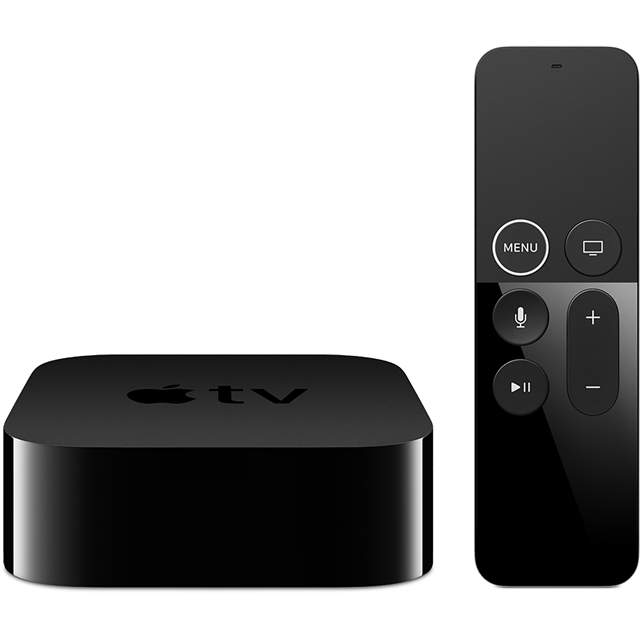 Apple TV 4K 64GB - Black - MP7P2B/A - 1