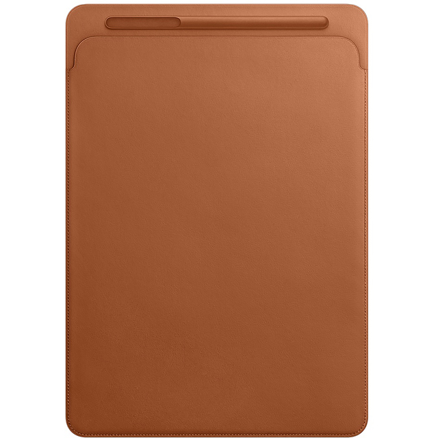 Apple Leather Sleeve for 10.5 inch iPad Pro - Saddle Brown - MPU12ZM/A - 1