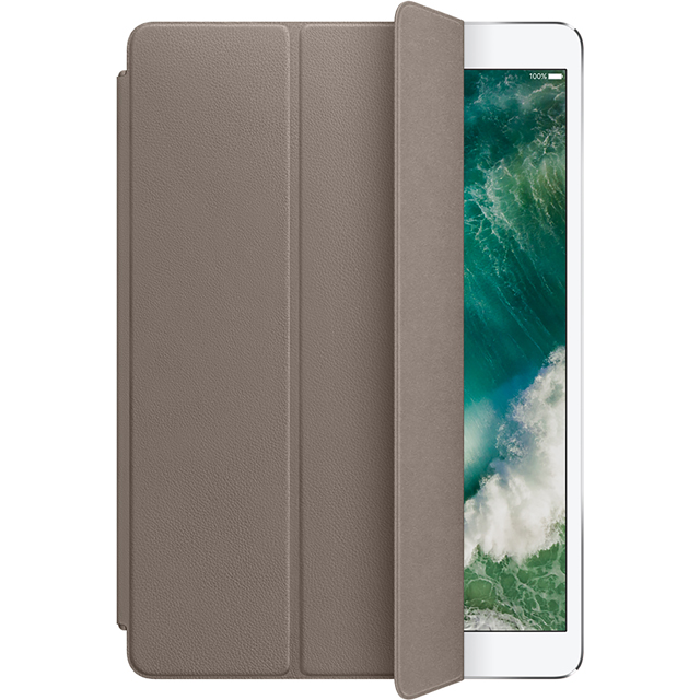 Apple Leather Smart Cover for 10.5 inch iPad Pro - Taupe