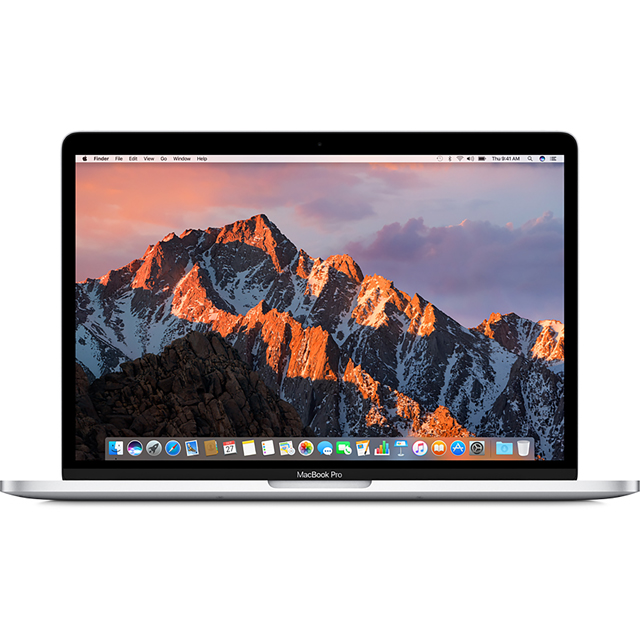 "Apple MacBook Pro 13.3"" [2017] - Silver - MPXU2B/A - 1"